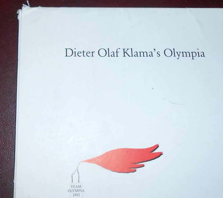 dieter olaf klama 39 s olympia 1992 lufthansa 18 drucke signiert team olympia ebay. Black Bedroom Furniture Sets. Home Design Ideas